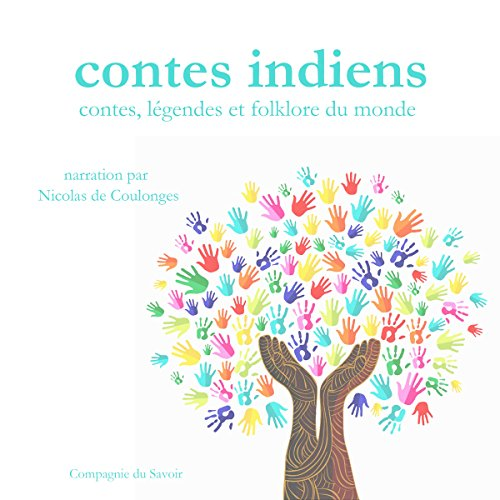 Contes indiens audiobook cover art