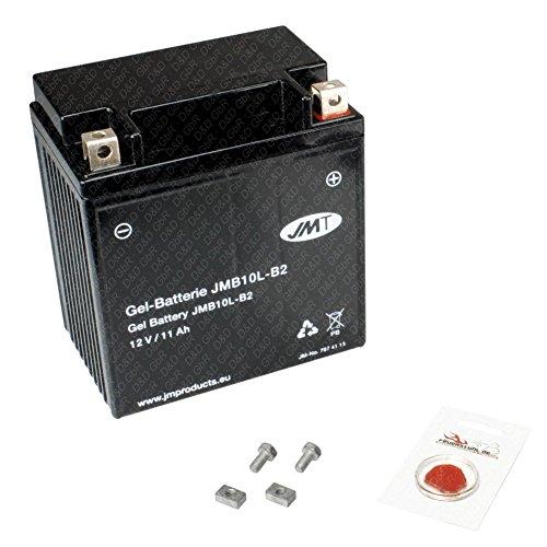 Gel-Batterie für Piaggio X8 125, 2004 (M36300) wartungsfrei, inkl. Pfand €7,50