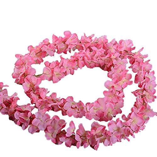 Colgante artificial de 200 cm de la planta wisteria de Calcifer®, enredadera de flores de seda, ideal para decorar el jardín, para bricolaje, para poner en el salón, en fiestas de bodas