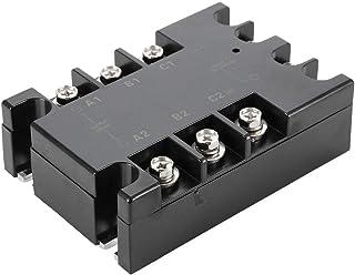 مرحل الحالة الصلبة ثلاثي الأطوار ، TSR-10AA-H 90-250V AC جهد الإدخال 10A مرحل التيار المقنن لمختلف تطبيقات التحكم في عملية...