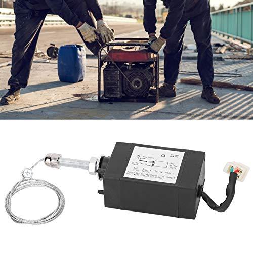 Válvula solenoide de parada del motor, válvula solenoide, control de servomotor Alta resistencia para control de parada del motor del generador