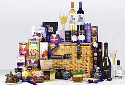 Christmas Velvet Luxury Basket Hamper