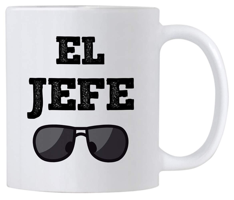 Mug Idea for Boss. Outlet Translated sale feature El Jefe 11 Coffee Saying oz in Funny Mug. Spa