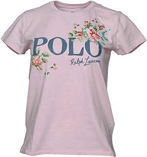 Camiseta para mujer con diseño de flores