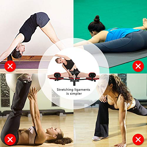 Product Image 7: Weanas Pro Leg Stretcher Machine 330LBS Leg Stretch Training Heavy Duty Stretching Machine Gym Gear Fitness Equipment