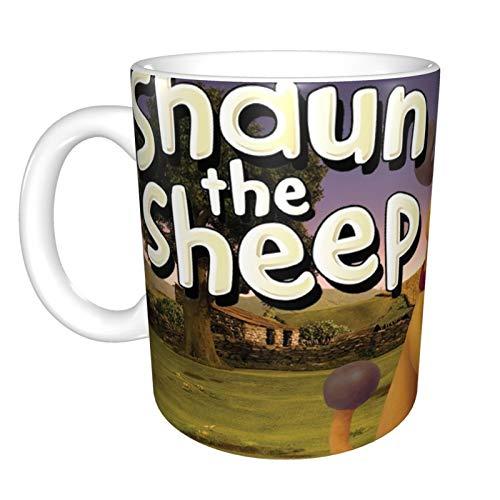 Sean The Sheep - Taza de café y té (325 ml)