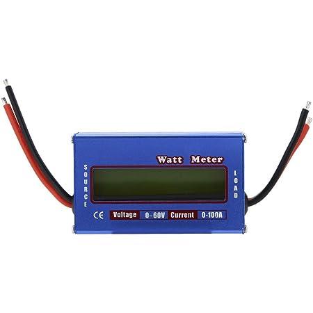 Digital Wattmeter Dc 60v 100a Leistungsmesser Power Analyzer Mit Lcd Hintergrundbeleuchtung Baumarkt