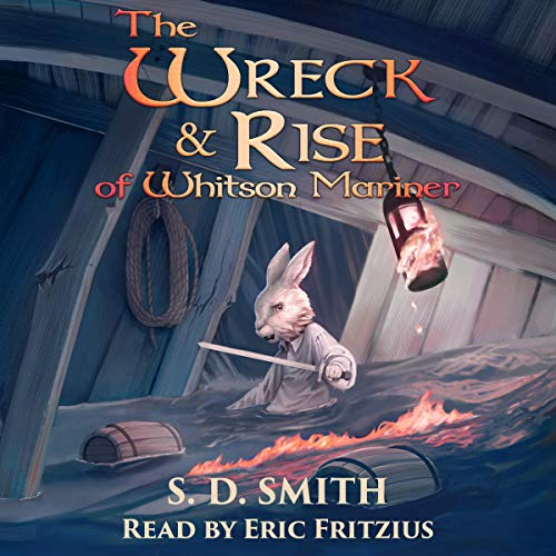 The Wreck and Rise of Whitson Mariner audiobook cover art