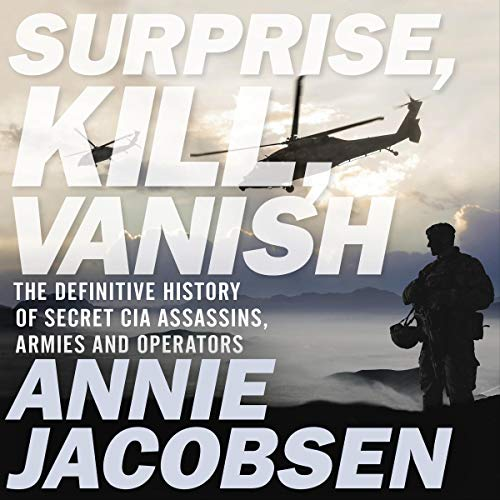 Surprise, Kill, Vanish cover art