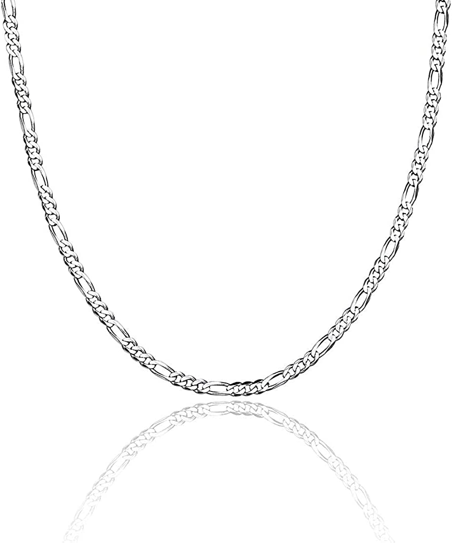 U7 Jewelry High quality 1.2mm Stainless Steel Italy sale Womens Necklace Men Chain