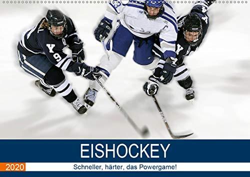 Eishockey! Schneller, härter, das Powergame! (Wandkalender 2020 DIN A2 quer): Heiße Action auf kaltem Eis! Das ist Eishockey live! (Monatskalender, 14 Seiten ) (CALVENDO Sport)
