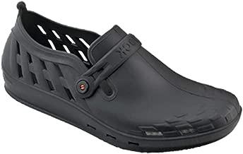 Wock Black Flat Sandal For Unisex