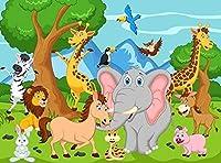 2000ピースジグソーパズル子供大人動物の世界のジグソーパズルのおもちゃ家族教育ジグソーパズルのおもちゃのギフト