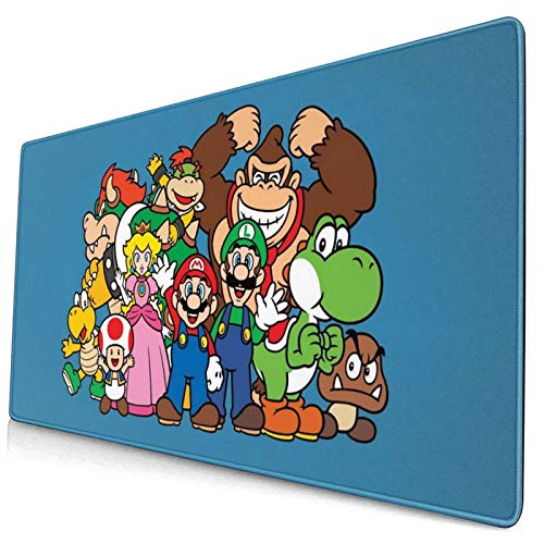 Ni-Nte-Ndo Non-Slip Mouse Pad Large Gaming Mouse Pad Desk Mat 15.8x29.5 in
