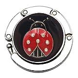 Iusun Mini Butterfly Beetle Folding Hanger Holder Table Hook for Purse Handbag Utility Hanging Kit Tool...