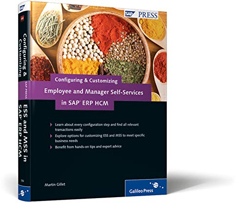 Configuring and Customizing Employee and Manager Self-Services in SAP ERP HCM: SAP ESS and MSS Configuration and Customization (SAP PRESS: englisch)