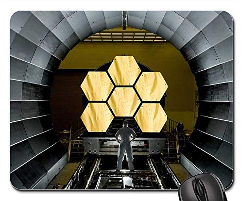 Mouse Pad - Space Telescope Mirror Segments James Webb Cosmos