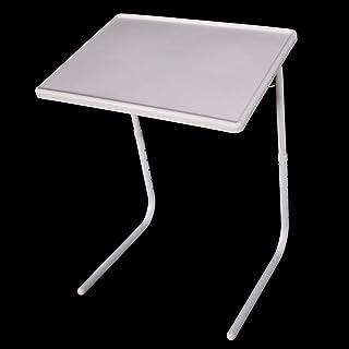 Binlin Sofa Tray,Portable and Foldable Comfortable TV Tray Table, Adjustable Tray(1