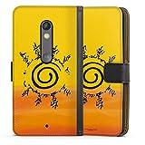 DeinDesign Étui Compatible avec Motorola Moto X Play Étui Folio Étui magnétique Naruto Shippuden...