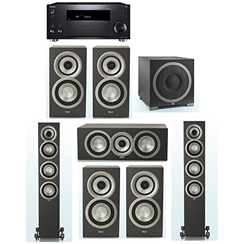 Learn More About ELAC Uni-Fi Slim Black 7.1 System with 2 ELAC FS-U5 Floorstanding Speakers, 1 CC-U5...