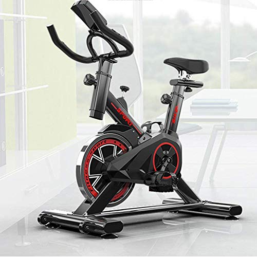 Spinning Bike, Peloton Bike, Fitness Cardio Home Cycling, Excersize Bike for Home, Aerobic Indoor Training Exercise Bike with Pulse Monitor