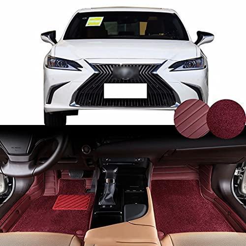 Alfombrillas Adecuado para ES 300h (neumáticos: 235 45 R18 / recordatorio del cinturón de seguridad de la fila delantera sin abrochar / función de memoria del asiento principal y del copiloto) 2020