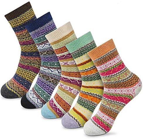 Women s Winter Socks Gift Box Free Size Thick Wool Soft Warm Casual Socks for Women Socks Christmas product image