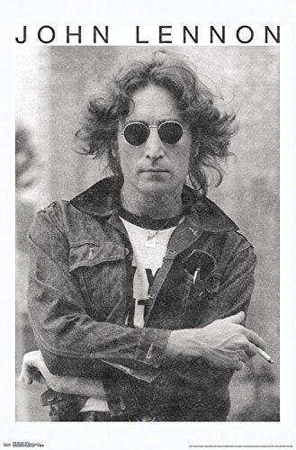 Trends International John Lennon - Smoke Wall Poster, 22.375
