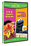 Sesame Street Double Feature: 123 Count with Me / Learning About Letters