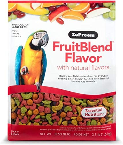 FruitBlend® Flavor with Natural Flavors Avian Diets Large Birds 1.58kg