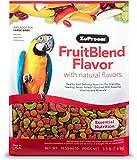 ZuPreem Fruit Blend Diet for Large Birds, 3.5-Pound by ZuPreem