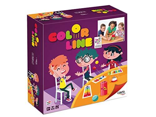 Cayro-332 Juego Color Line thinkfun +5 años, Multicolor (332)