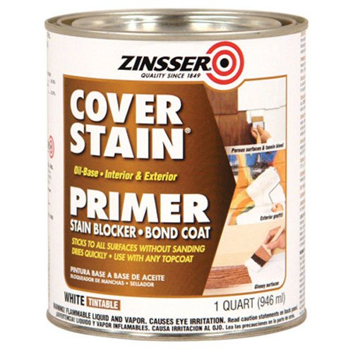 Zinsser 03504 Cover Stain Interior/Exterior Oil Primer...