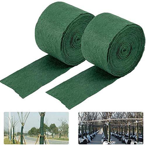 2 Pack Tree Protector Wraps, Baumstammschutz, Frostschutz Pflanzen Bandage, geeignet für verschiedene Obstbäume, Sträucher, Gartenbäume (20 m/65Fuß)