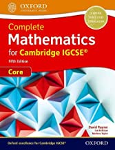 Complete Mathematics for Cambridge IGCSE (R) Student Book (Core)
