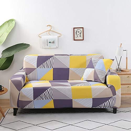 Fundas protectoras de sofá para sala de estar, elásticas, seccionales, esquineras, fundas de sofá A6, 4 plazas