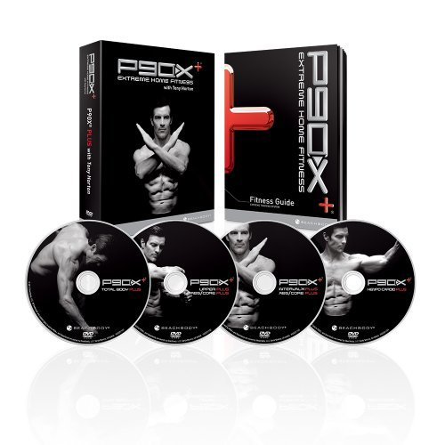 P90X Plus + 4 DVD Extreme HOME Fitness Workout SET Special Edition+ Anleitung + Nutrit