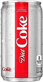 Diet Coke Mini-Cans, 7.5 fl oz (Pack of 24)