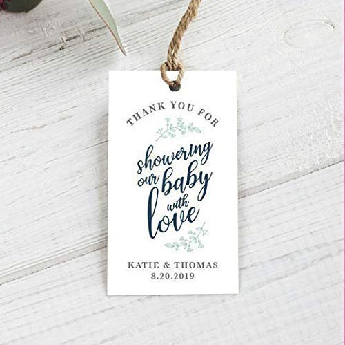 Baby Shower Thank you goodie bag tags