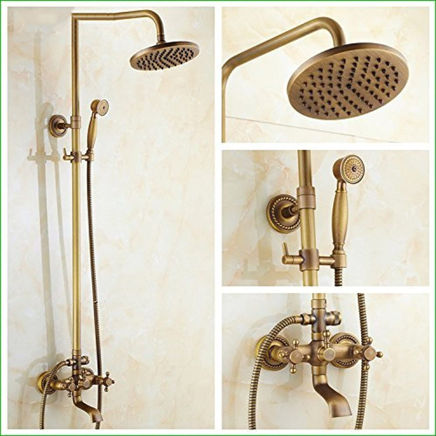 Of The Constant Temperature Faucet Shower Fully The Antique Copper Seven Community Passport Lift Glass Multi-Function Shower Faucet Hand Sprinkler