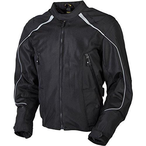 ScorpionExo Velocity Men's Textile Mesh Jacket (Black)