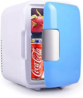 Mini Fridge, Car Fridge Portable Compact Refrigerator Electric Cooler & Warmer(4 Liter / 7 Can) For Car/Boat/Self-Driving/Camping/Outdoor - 12V DC Vehicle Plugs