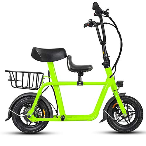 Hxl Elektrische fiets, lichtgewicht aluminium vouwfiets, 36 V lithium-ion-accu, E-bike, 240 W, krachtige motor, voor volwassenen