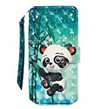 3D Painted Leather Case for iPhone 11 12 Mini Pro Max X XS XR 8 7 6 6S Plus Se 2020 2 Wallet Card...