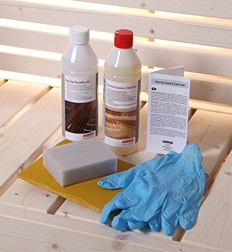 Sauna Care Set für die Holzoberflächen