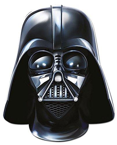 Star wars darth vader empire masque en carton de elizabeth iI avec trous pour les yeux et élastique taille : 30 x 20 cm