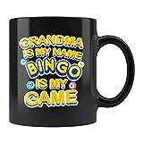 Taza de bingo de regalo para abuelas, bingo, bingo, regalos para amantes del bingo, regalo para abuela, bingo, taza de café, taza de bingo, taza de 325 ml