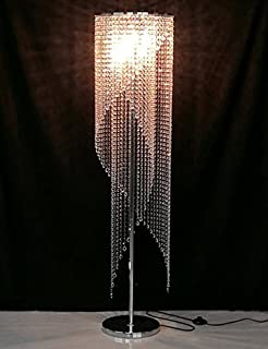 Amazoncom Silver Modern Floor Lamps Lamps Shades Tools