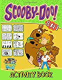 Scooby Doo Activity Book: Color To Relax Dot To Dot, Hidden Objects, Word Search, Find Shadow, Maze, Spot Differences, Coloring, One Of A Kind Activities Books For Adults And Kids