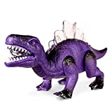 Product Image of the Windy City Novelties LED Light Up and Walking Realistic Dinosaur with Sound